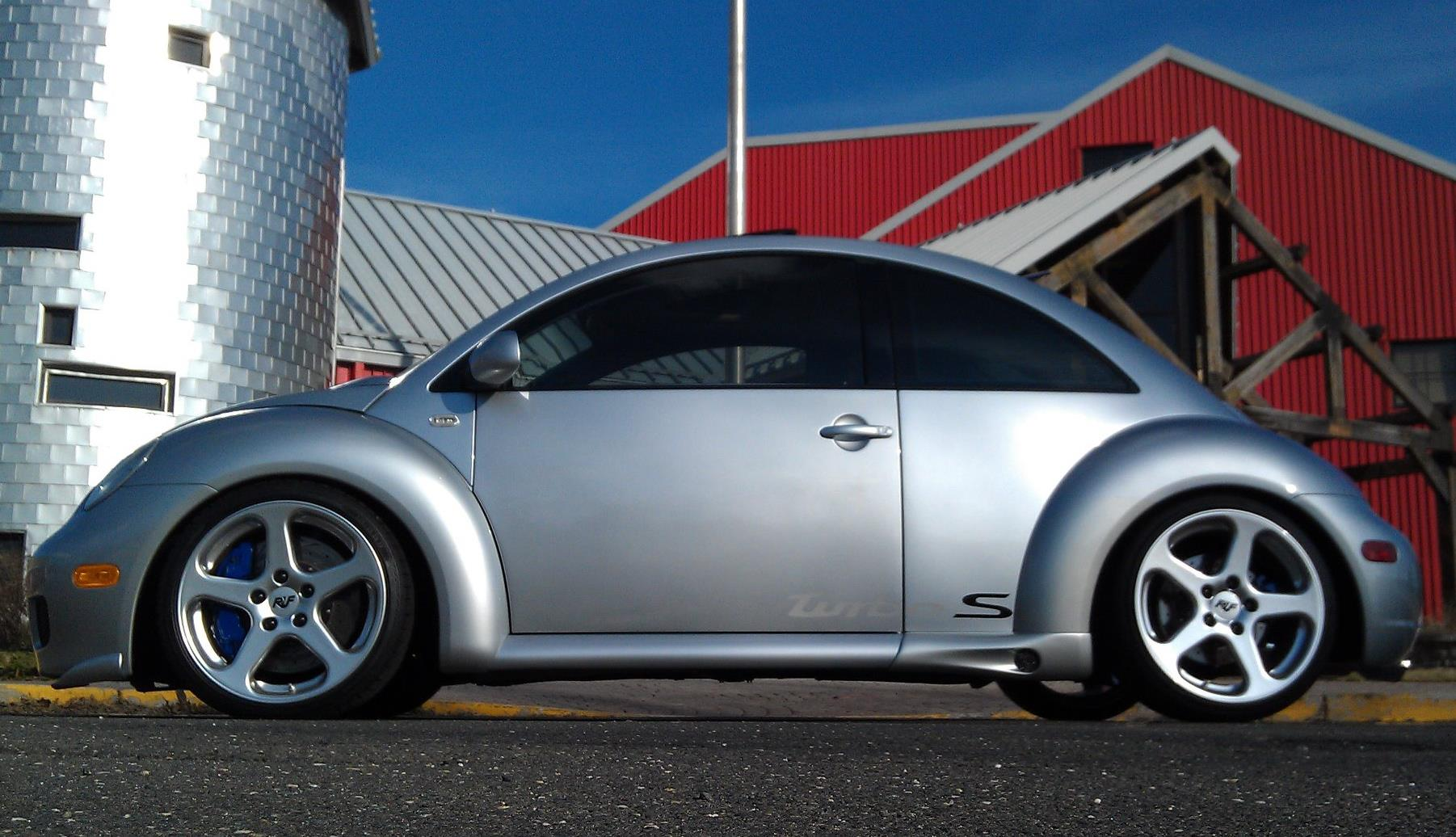 2002 volkswagen beetle ruf bug turbo s one of a kind. Black Bedroom Furniture Sets. Home Design Ideas