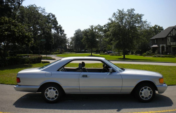 1983 mercedes benz 380 sec one owner excellent shape for Brumos mercedes benz